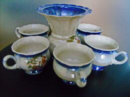 Сервизы и наборы - Кофейный набор, семь предметов (чашки и…, 0
