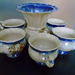 Сервизы и наборы - Кофейный набор, семь предметов (чашки и сливочник)., 0