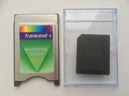 Устройства для чтения карт памяти - Адаптер Smart Media Transcend, 0