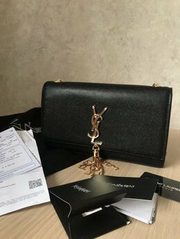 Сумки - Сумка YSL Yves Saint Laurent Kate, 0