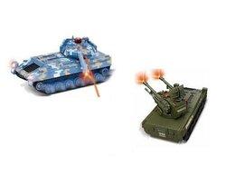Радиоуправляемые игрушки - Р/У танковый бой Double Eagle Fighting Tanks (2…, 0