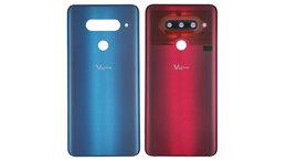 Корпусные детали - Задняя крышка АКБ для LG V40 , 0