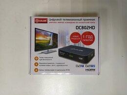 ТВ-приставки и медиаплееры - Цифровой приемник ТВ DVB-T2 D-Color DC802HD, 0