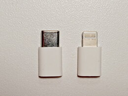 Зарядные устройства и адаптеры - Переходник microUSB - TypeC / Lightning, кабель…, 0
