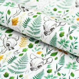 Бумага и пленка - Упаковочная бумага Олененок, 70*100см, 0