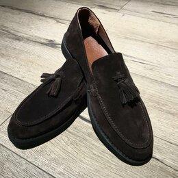 Туфли - Замшевые лоферы, 0