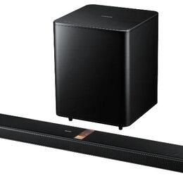 Акустические системы - Ламповый саундбар Samsung HW-F850 AirTrack, 0