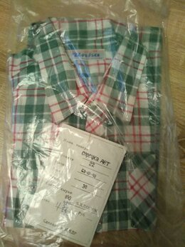 Рубашки - Рубашки новые детские - клетка, зеленая, красная…, 0