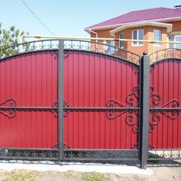 Заборы, ворота и элементы - Ворота дачные, 0