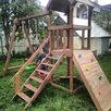 Детская горка деревянная по цене 35900₽ - Игровые и спортивные комплексы и горки, фото 1