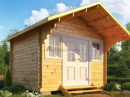 Готовые строения - Садовый домик  из мини-бруса 3,5х3 «Тенистый» , 0