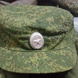 Головные уборы - Кепи военное 57 размер с металлической кокардой, 0