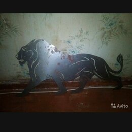 Статуэтки и фигурки - Лев металлический, 0
