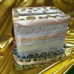 Свадебные украшения - сундуки и подушки под кольца, 0