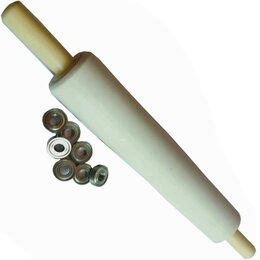 Скалки - Маленькая скалка для теста 20-6см с подшипниками., 0