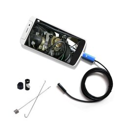 Видеокамеры - Эндоскоп для Android с подсветкой, 0