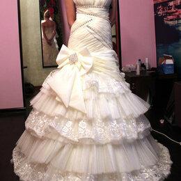 Платья - Продажа. Свадебное платье новое, р.40-44, 0