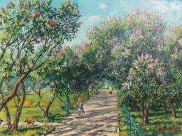 Картины, постеры, гобелены, панно - Сиреневый сад, 0