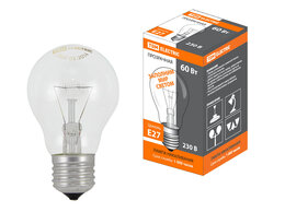 Лампочки - Лампа накаливания общего назначения  Б60 Вт-230…, 0