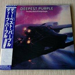 Музыкальные CD и аудиокассеты - Deep Purple - Deepest Purple Japan Mini Vinyl CD…, 0