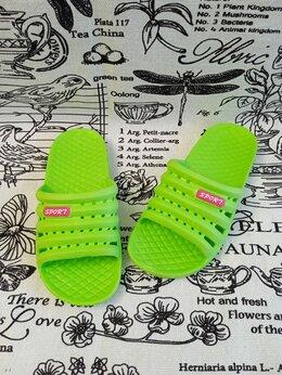 Шлепанцы - Детские шлепанцы, цвет: зеленый, артикул: 1603-2, 0