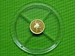 Монеты - 10 рублей 1993г. Балет золото, 0