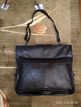 Сумки - Новая  дорожная кожаная сумка портплед, 0