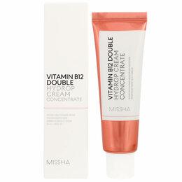 Бытовая химия - Гидрирующий крем-концентрат для обезвоженной кожи Missha Vitamin B12 Double ..., 0