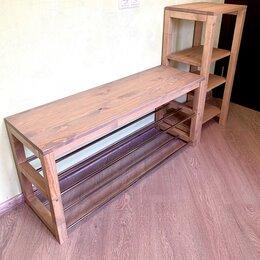 Стеллажи и этажерки - Мебель в прихожую, обувница, стеллаж, 0