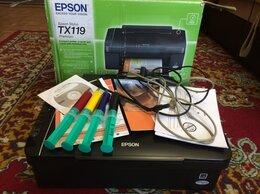 Принтеры и МФУ - МФУ Epson TX119 в коробке заправлен и исправен, 0