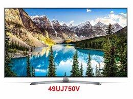 """Телевизоры - 49"""" 4K IPS LED Smart TV LG 49UJ750V NanoCell / HDR, 0"""