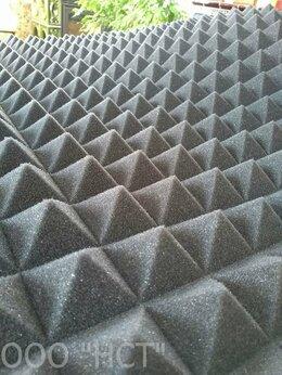 """Оборудование для звукозаписывающих студий - Поролон акустический """"Пирамидка"""" 50 мм (1 х 2 м), 0"""