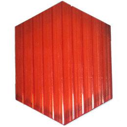 Поликарбонат - Сотовый поликарбонат 6 мм красный 6 м, 0