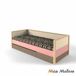 Комплектующие - Кровать нижняя с фальшпанелью универсальная розовая «Робин Wood», 0