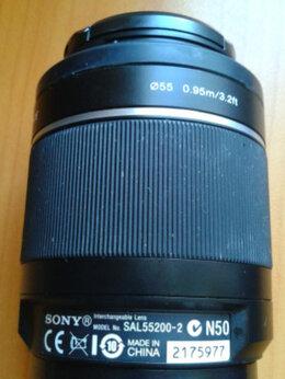 Объективы - Sony DT 55-200mm f/4-5.6 SAM (SAL-55200-2), 0