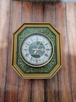 Часы настенные - Часы настенные кварцевые Янтарь, СССР , 0