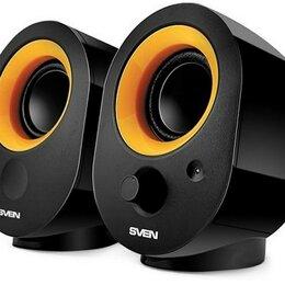 Компьютерная акустика - Акустическая система 2.0 SVEN 316, чёрный, USB, ак, 0