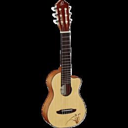 Акустические и классические гитары - Гиталеле Ortega RGL5C Bonfire Series, 0