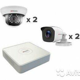 Камеры видеонаблюдения - Комплект видеонаблюдения hiwatch на 4 камеры full, 0