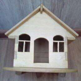 Лежаки, домики, спальные места - Домик деревянный, 0