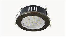 Встраиваемые светильники - Светильник влагозащищённый GX53 H9 IP65 Экола, 0