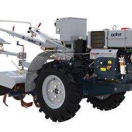 Спецтехника и навесное оборудование - Мотоблок СКАУТ 15 DE с почвофрезой и сиденьем, 0