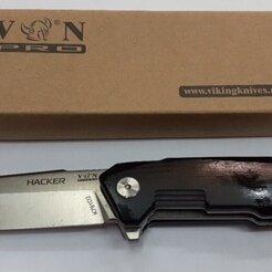 Ножи и мультитулы - Нож складной Viking Nordway ХАКЕР K791D2, 0