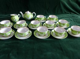 Сервизы и наборы - Сервиз чайный ГЛУХАРИ на 12 персон, Дулево  , 0