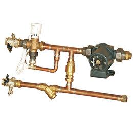 Комплектующие для радиаторов и теплых полов - Тепломаш Смесительный узел УТ-КЭВ-4Н, 0