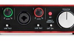 Оборудование для звукозаписывающих студий - Focusrite Scarlett 2i2 2nd Gen, 0