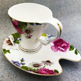 Кружки, блюдца и пары - Чайная пара: чашка с блюдцем Royal Heritage, 0