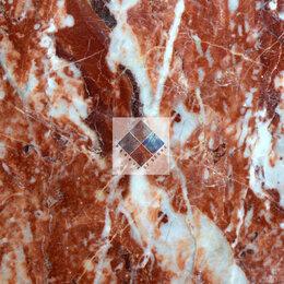 Плитка из керамогранита - Красный мрамор Кардинал Рэд, 0
