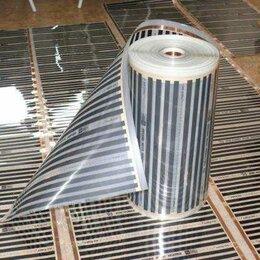 Электрический теплый пол и терморегуляторы - Теплый пол пленочный инфракрасный .Ширина 50см, 0