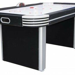 Игровые столы - Аэрохоккей Weekend NEON-X 6ф, 0